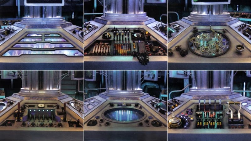 Illustration for article titled Get a close-up view of Doctor Who's brand new TARDIS control panels!