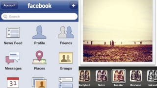 Illustration for article titled Facebook Is Going to Add Instagram-style Photo Filters to their Facebook App