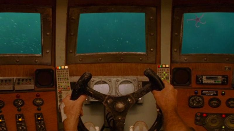 """Illustration for article titled All aboard the quirk-mobile in this Wes Anderson """"vehicles"""" supercut"""