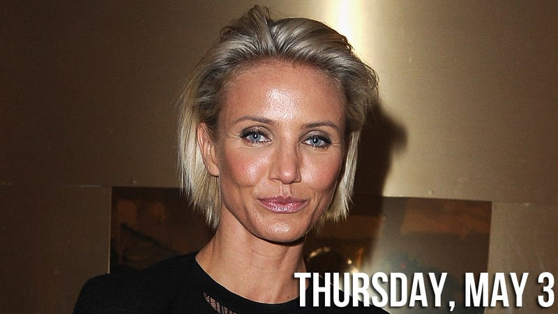 Nasty C Hairstyle: Cry-Baby Cameron Diaz Loses Her Shit After A Bad Haircut