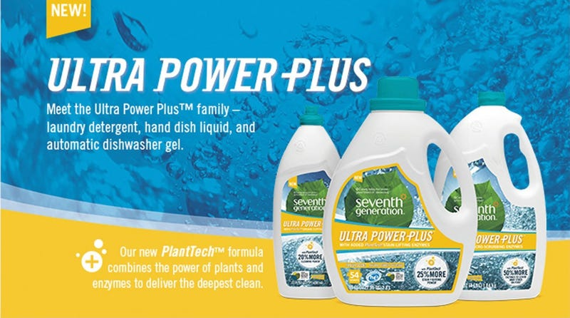 Illustration for article titled Seventh Generation's Ultra Power Plus Are The Natural Cleaning Products You've Been Waiting For