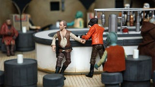 Illustration for article titled Perfect Recreations Of Star Wars Film Sets. For Your Action Figures.