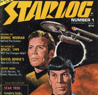 Illustration for article titled Starlog Magazine is available for free online!