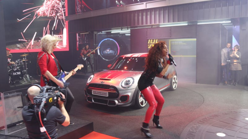Illustration for article titled The 2014 Mini John Cooper Works Concept Is Here To Rock And/Or Roll