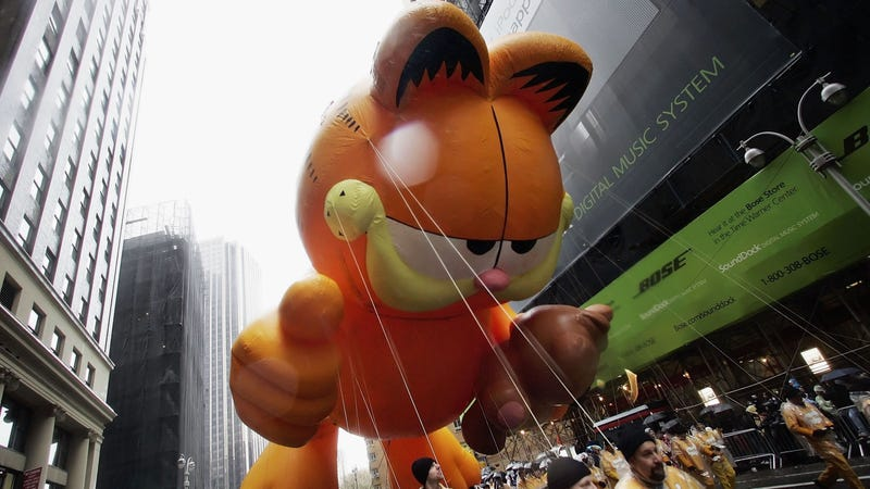 That's not rain, it's Garfield's tears because today is a freakin' Monday!