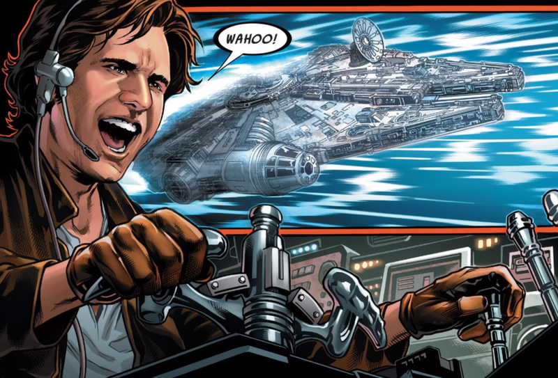 Illustration for article titled Marvel's New Han Solo Comic ShowsStar Wars' Smuggler at His Cocky Best