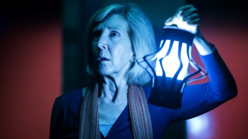 Illustration for article titled A veteran character actress almost gets her due in Insidious: Chapter 3