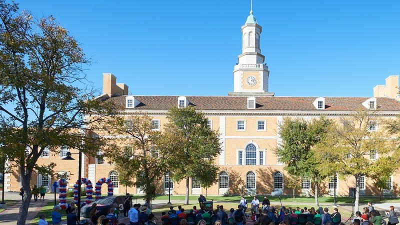 University of North Texas in Denton, Tex. November 1, 2017
