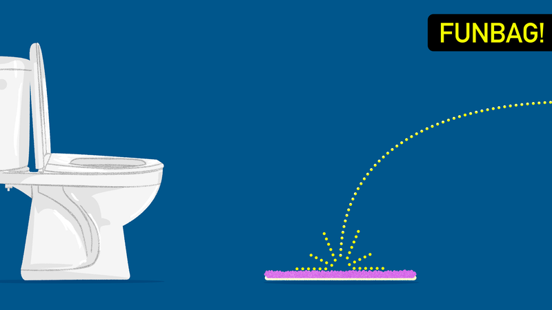Illustration for article titled Do Not Piss On Your Bathmat