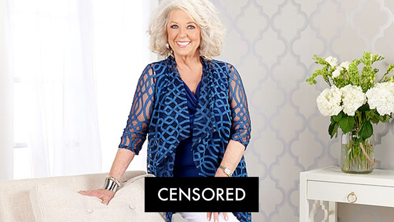 Illustration for article titled Hold the Biscuit: Paula Deen's Clothing Line Is Designed to Cover Your 'Front Privates'