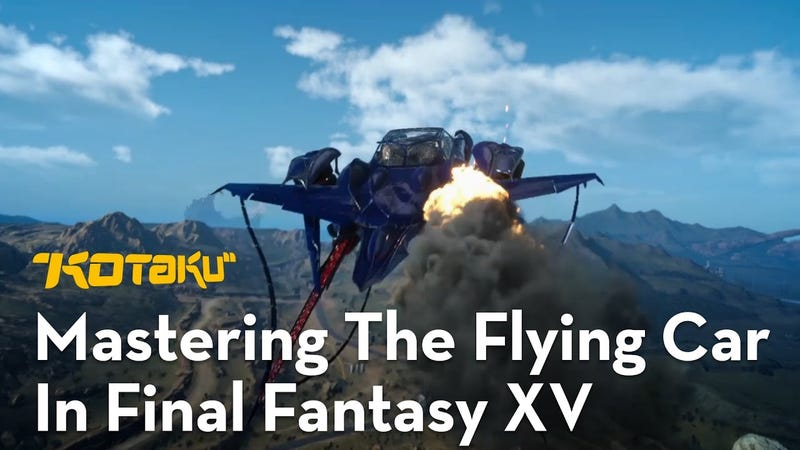 Ffxv When Do You Get The Flying Car