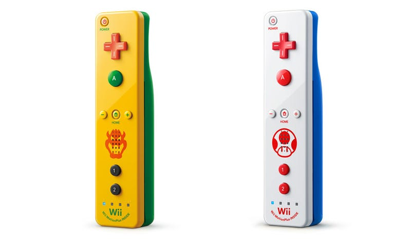 Illustration for article titled Nintendo's New Wii Remotes Are Hot