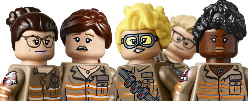 Illustration for article titled The New Ghostbusters (And Kevin) Get The LEGO Treatment