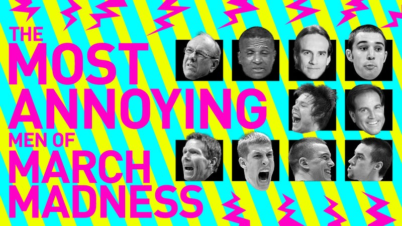 Illustration for article titled The 13 Most Annoying Men Of March Madness