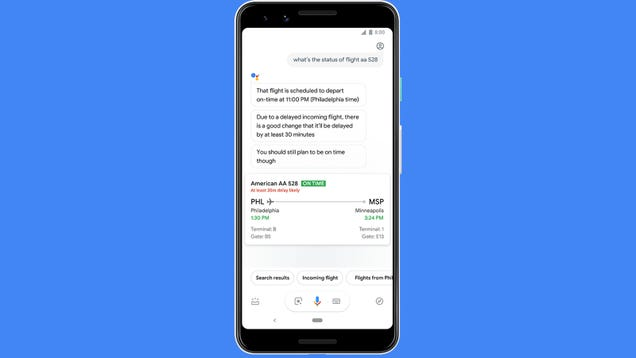 Google s Feature for Predicting Flight Delays Actually Sounds Useful Now