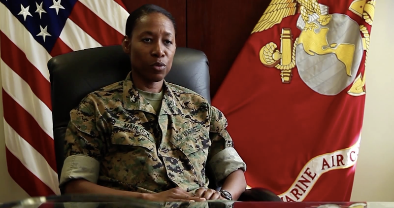 Lorna M. Mahlock Could Be the 1st Black Woman to Serve as Brigadier General in the Marine Corps