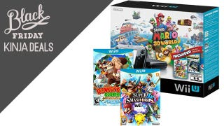 Illustration for article titled The Four Game Black Friday Wii U Bundle is Back in Stock [Updated]