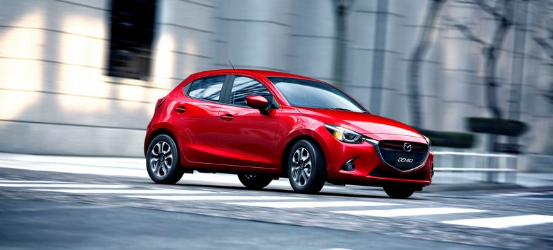 Illustration for article titled The 2015 Mazda2 Is How You Make A Good-Looking Small Hatch