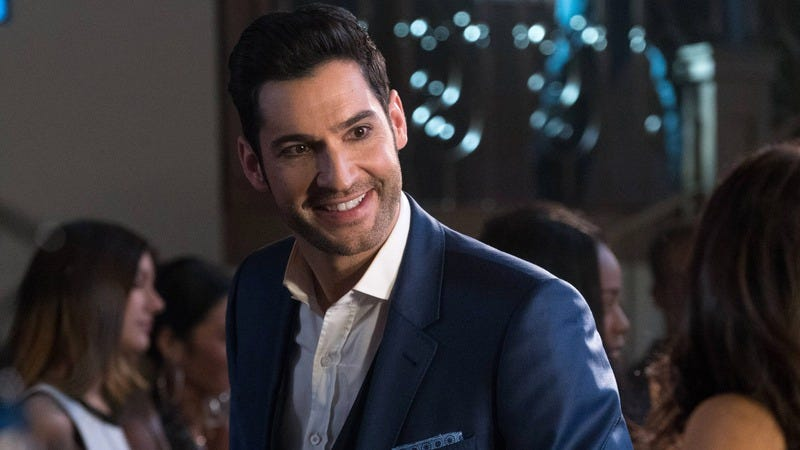 Tom Ellis stars in Lucifer (Photo: Fox)