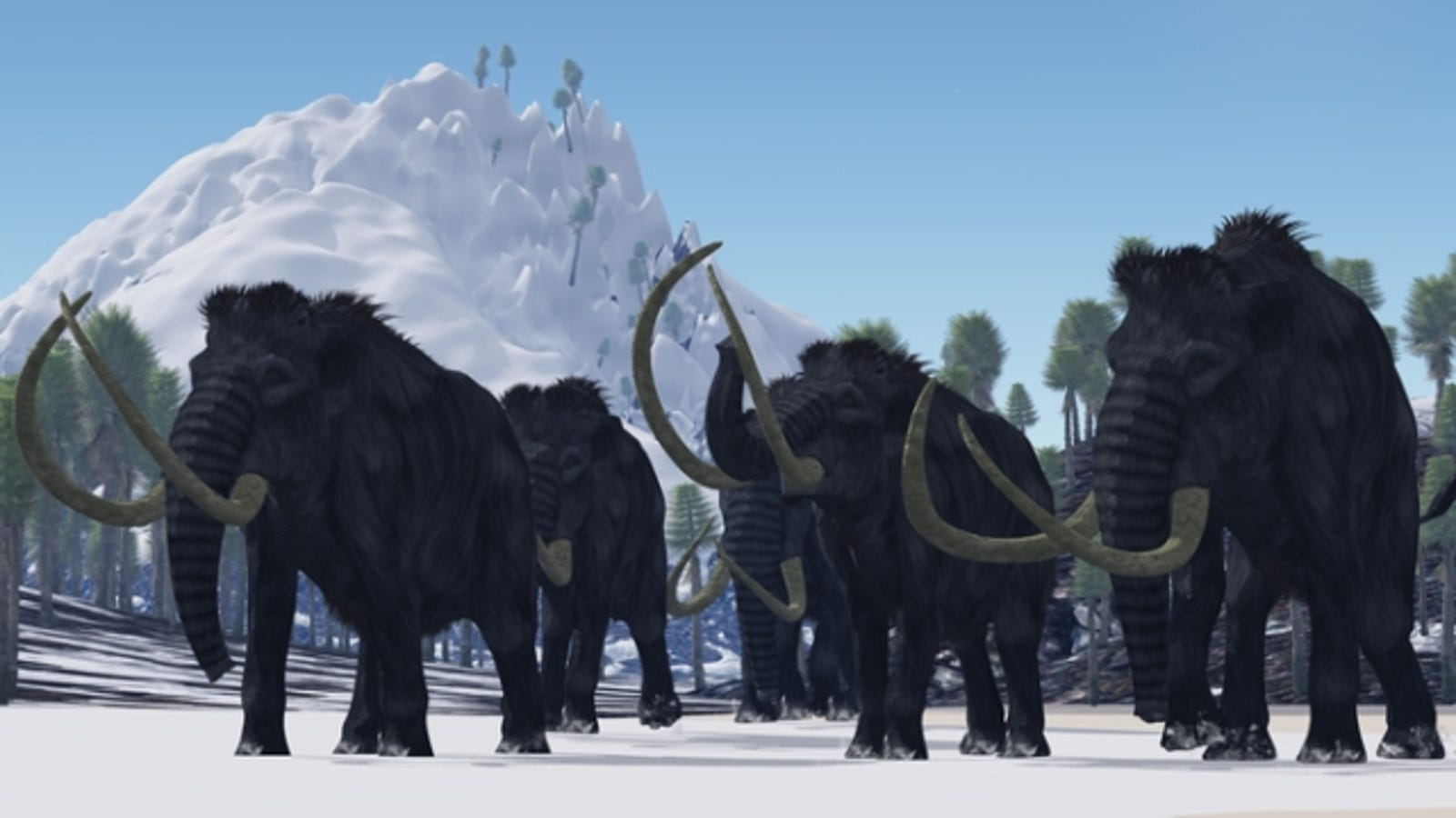 The last mammoths died out just 3600 years ago   but they