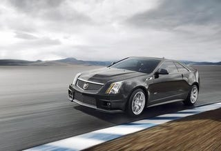 Illustration for article titled 2011 Cadillac CTS-V Coupe: Press Photos