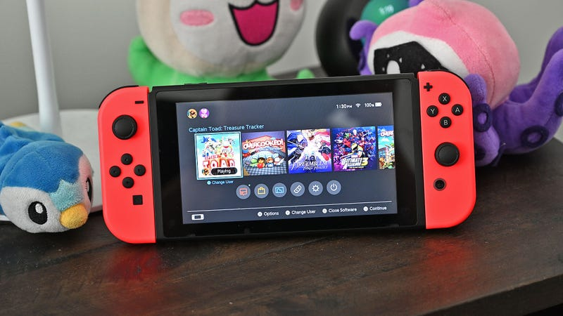 Nintendo Is Apparently Giving New Switch Owners a Free Upgrade to Version 2
