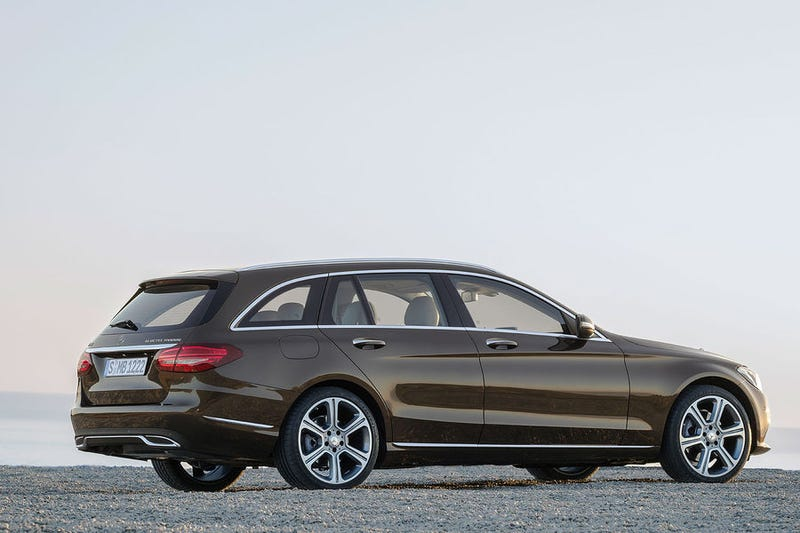 Illustration for article titled I like the new C-class estate, but not the sedan.