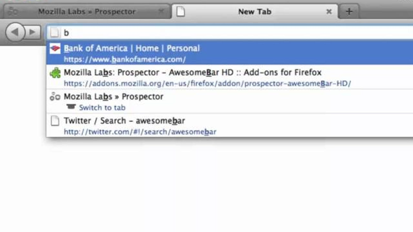 LessChrome HD Hides the Firefox URL Bar Until You Need It