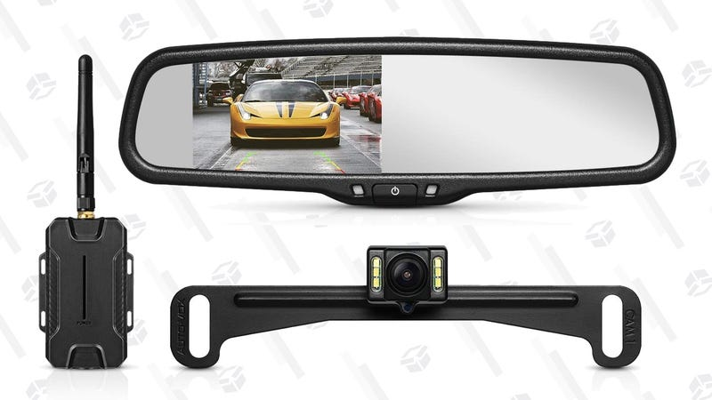 Auto Vox T1400 Rear View Camera | $111 | Amazon | Promo code EDUDOXNB