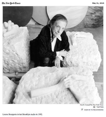 Illustration for article titled R.I.P. Louise Bourgeois