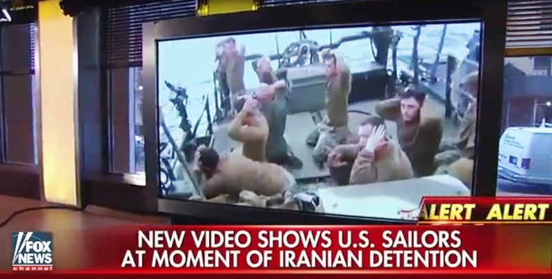 Illustration for article titled Fox News Pundits Shit The Bed More Than Usual Over Iran's Detaining Of U.S. Sailors