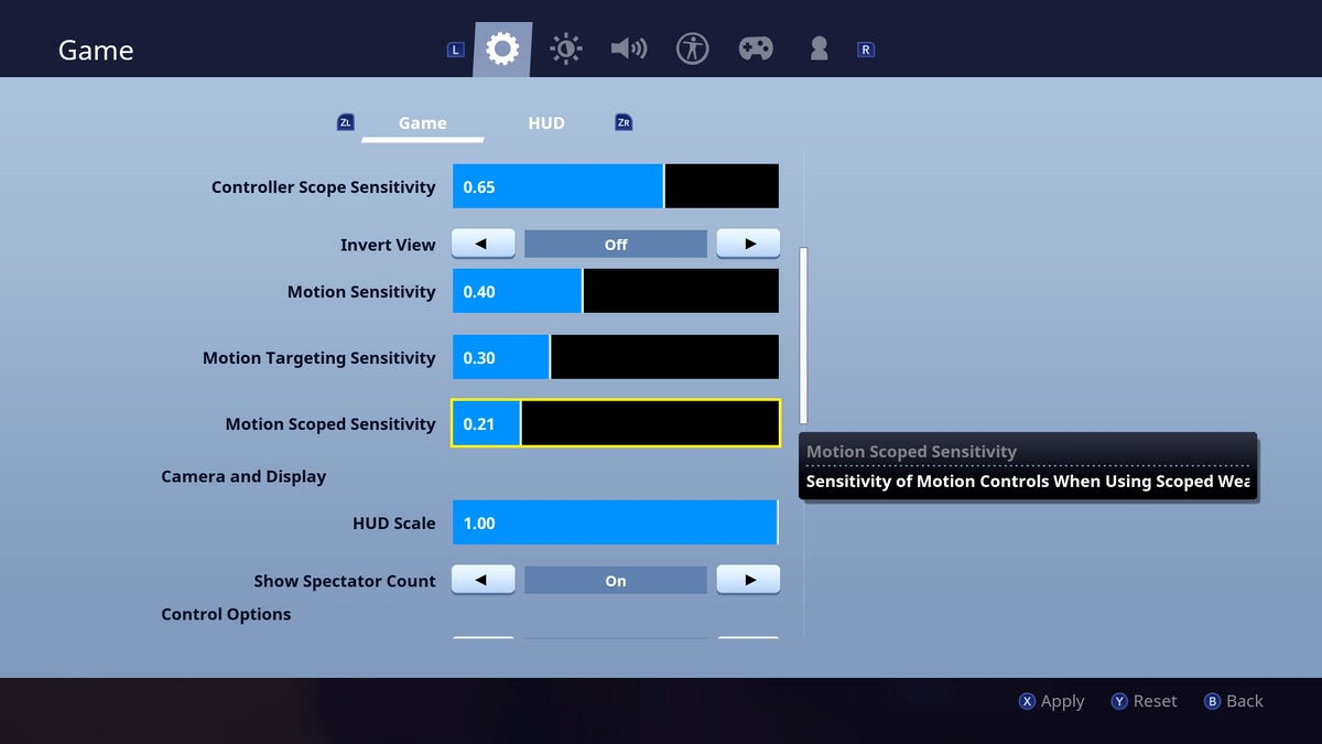 Fortnite S Switch Motion Controls Are Surprisingly Not Terrible -