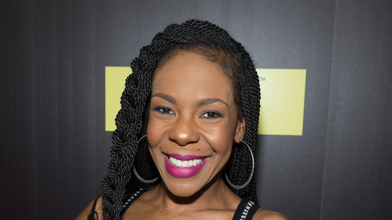 Drea Kelly attends TV One's 'Rickey Smiley For Real' season 2 premiere at SCADshow