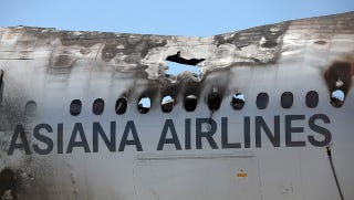 """Illustration for article titled NTSB Rules """"Mismanagement"""" By Pilots Caused Asiana 214 Crash"""