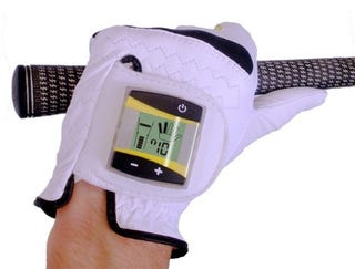 Illustration for article titled Digital Golf Glove Tells You Exactly How Hard To Grip It