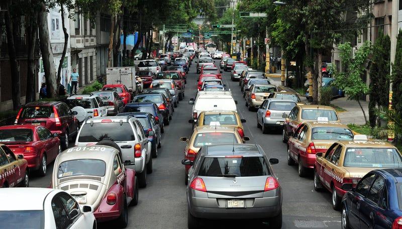 Una app ayudará a solucionar el problema del tráfico en México DF