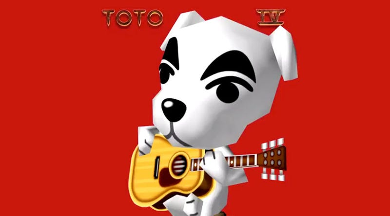 Illustration for article titled Africa, Only It's Sung By K.K. Slider