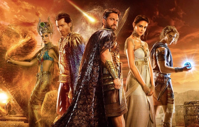 Illustration for article titled The Gods of Egypt Also Have Spaceships, Because Why the Hell Not