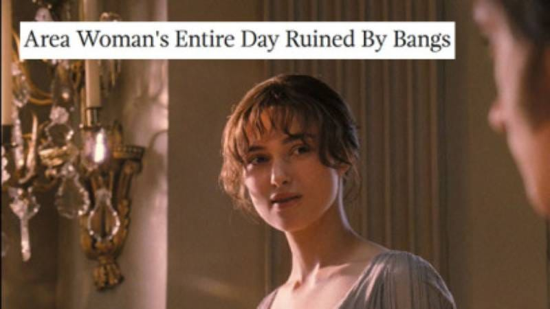 Illustration for article titled Pride And Prejudice 2005 + Onion headlines = one totally endearing meme