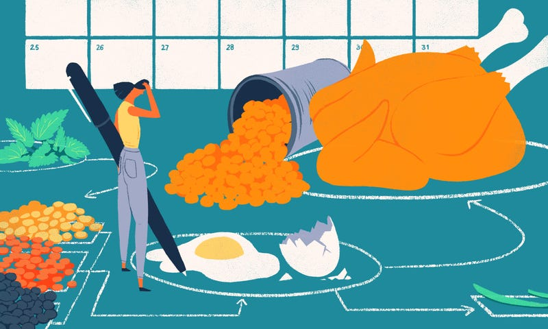 Illustration for article titled What to Do When Meal Planning Never Seems to Work for You