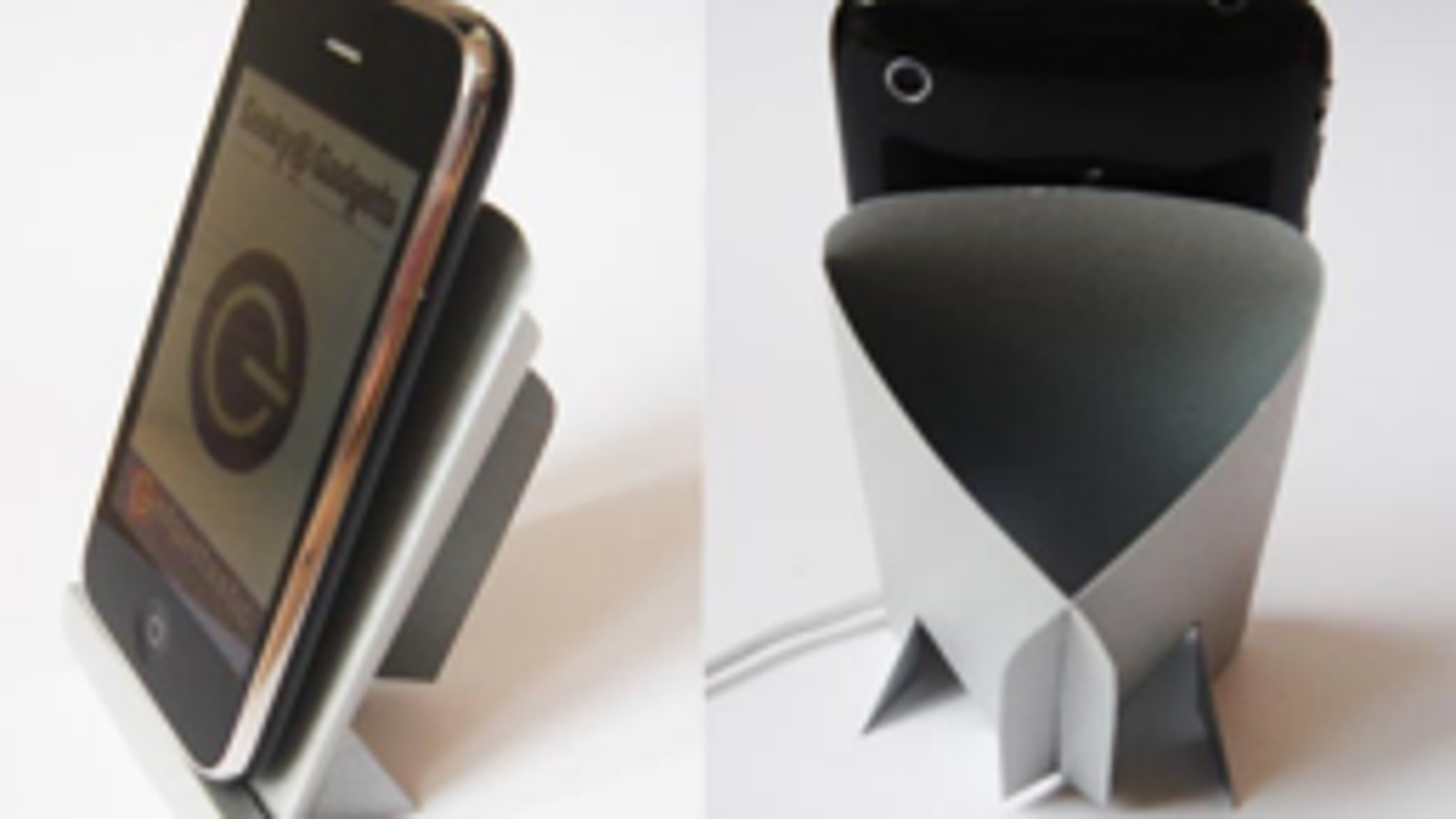 print out a cardboard iphone dock
