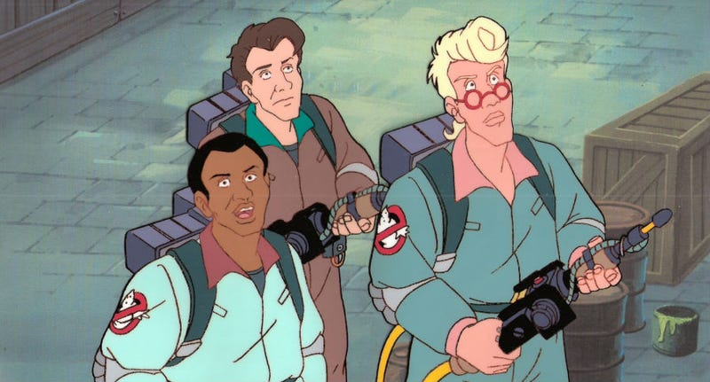 The Real Ghostbusters (above) will now get a sibling as a new Ghostbusters animated show has been announced.