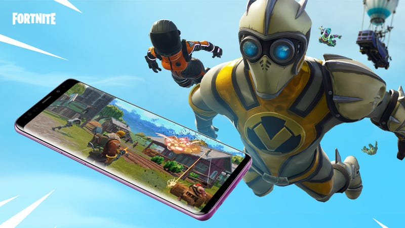 Illustration for article titled Fortnite Comes To Android Today, But There Are Catches