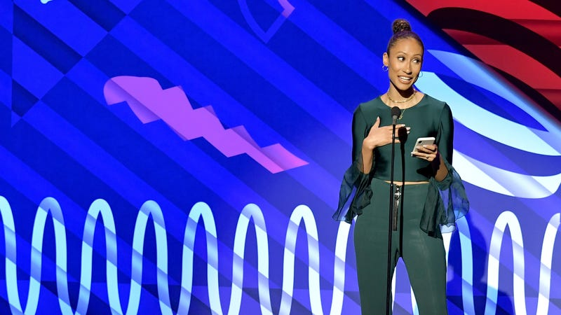 Elaine Welteroth speaks onstage at the 23rd Annual Webby Awards on May 13, 2019 in New York City.