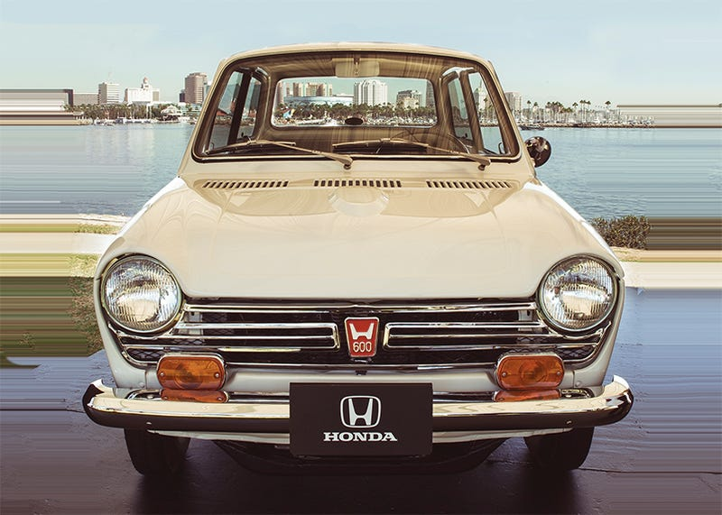 The first one, for real! (Photo Credit: Honda)
