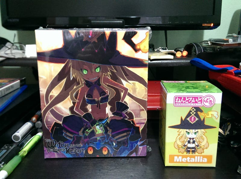 Illustration for article titled The Witch and The Hundred Knight LE Unbox