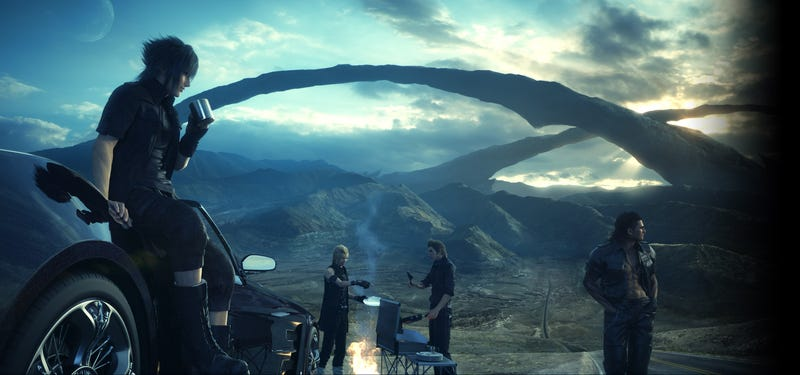 Illustration for article titled The Internet Reacts To Final Fantasy XV's New Trailer