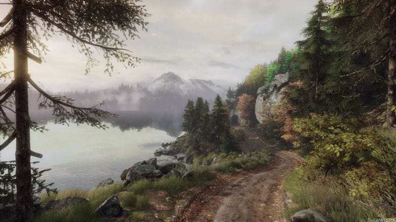 A still from The Vanishing Of Ethan Carter