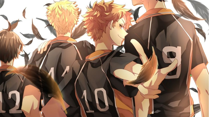 Illustration for article titled Review - Haikyuu!!