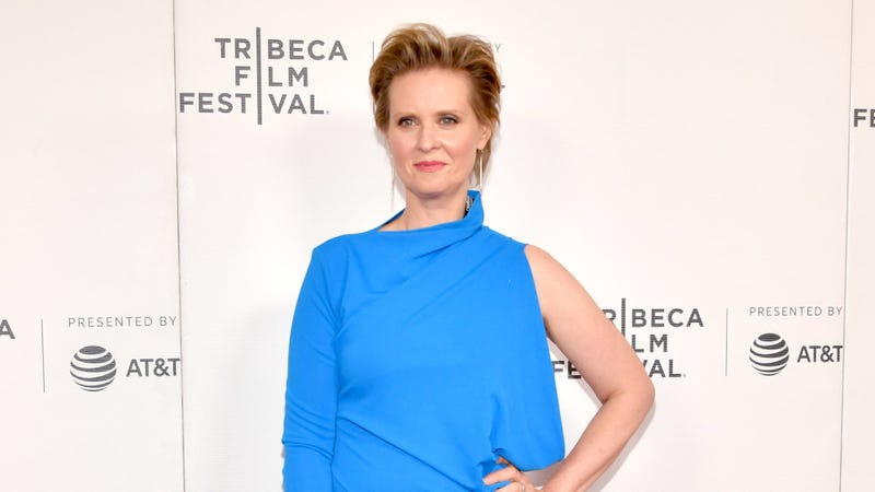 """Cynthia Nixon attends the """"Stray Dolls"""" screening during the 2019 Tribeca Film Festival on April 27, 2019 in New York City."""